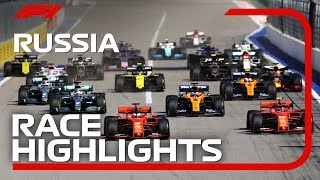 2019 Russian Grand Prix: Race Highlights