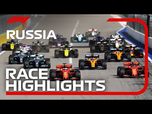 2019 Russian Grand Prix: Race Highlights