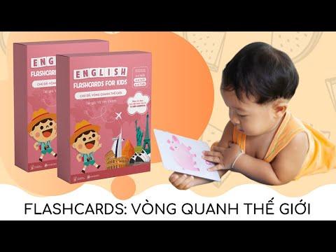 Thẻ học tiếng Anh  – Chủ đề: VÒNG QUANH THẾ GIỚI