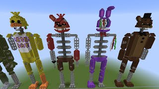 Minecraft FNAF Statue The Joy of Creation Reborn