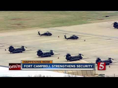 Fort Campbell increases security  Fort C