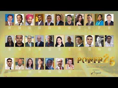 Power List 25 Procurement - 2021