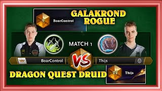 BoarControl vs. Thijs Except It's Legend Points Up For Grabs (Grandmaster Matchup On Ladder!)
