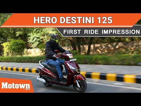 Hero Destini 125 | First Ride Impression