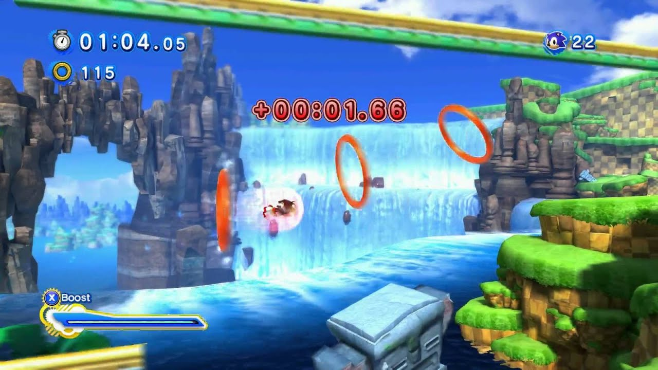 Dark Sonic Sonic Generations Mod - Year of Clean Water