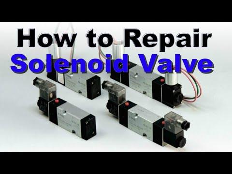 Pneumatic Solenoid Valve Repair // Solenoid Valve Troubleshooting