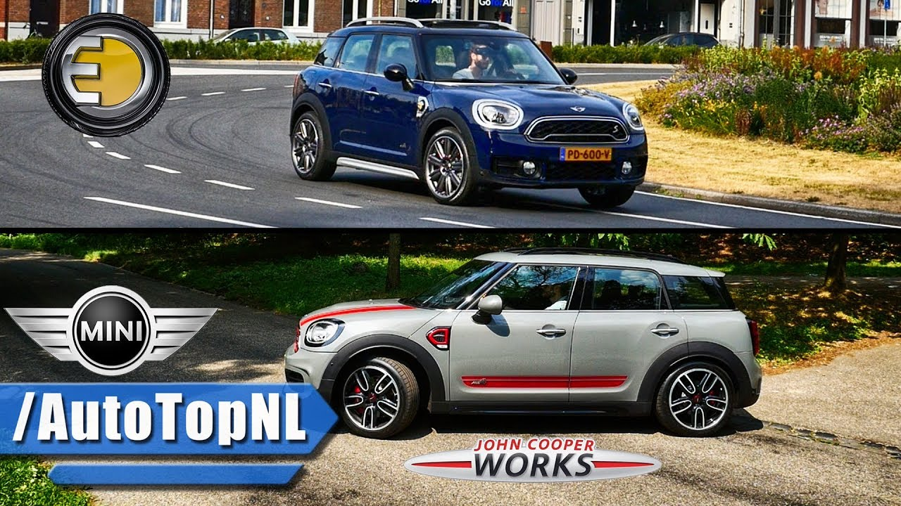 Mini Countryman Jcw Hybrid Review By Autotopnl Youtube
