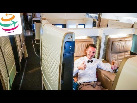 Etihad First Class Suite 787-9 NEUER Dreamliner Flightreport | GlobalTraveler.TV