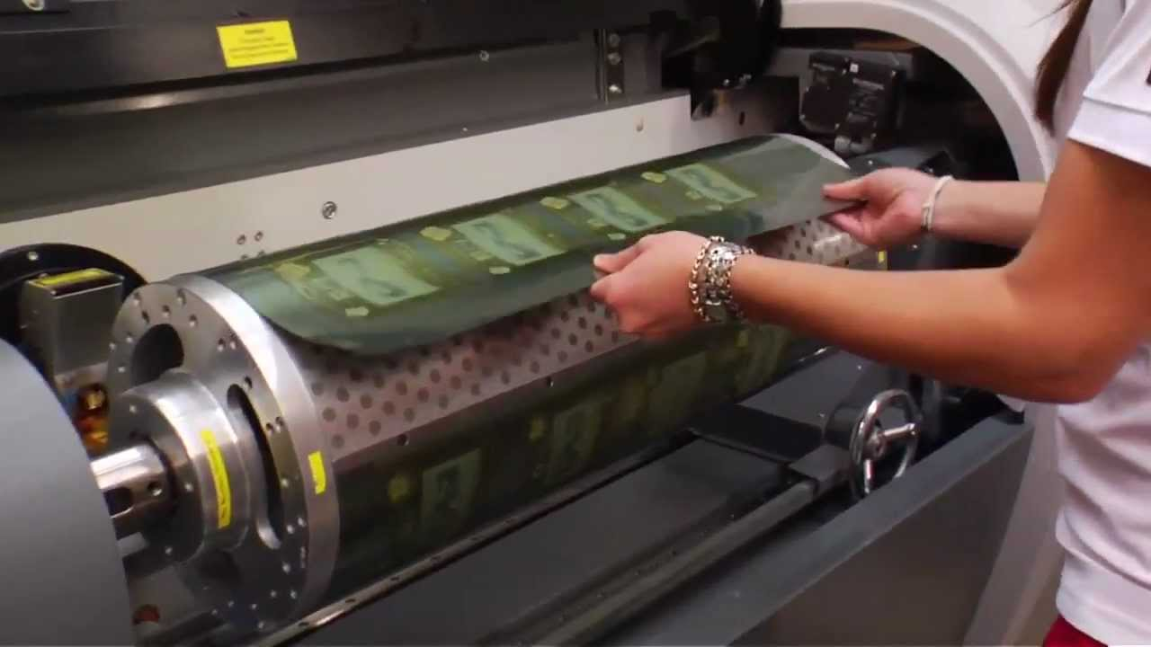 Spg Prints 6010 Direct Laser Engraving Youtube
