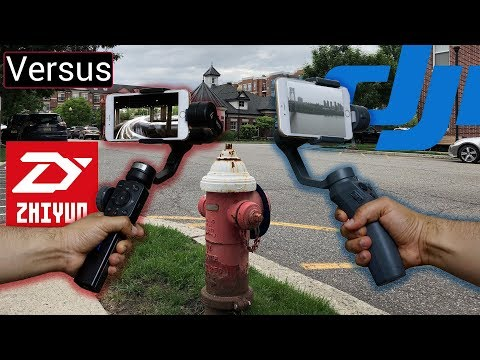 DJI Osmo Mobile 2 Vs Zhiyun Smooth 4 - It Depends On What You Need