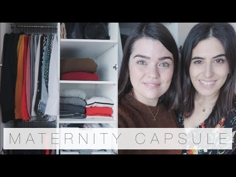 Making Lily A Maternity Capsule Wardrobe | An Edited Life | The Anna Edit