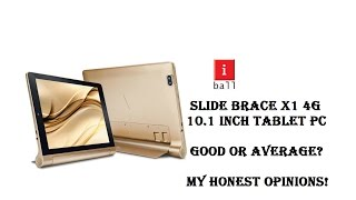 iball Brace X1 4G 10.1 inch Android Tablet Review My Honest Opinions | Technicalng
