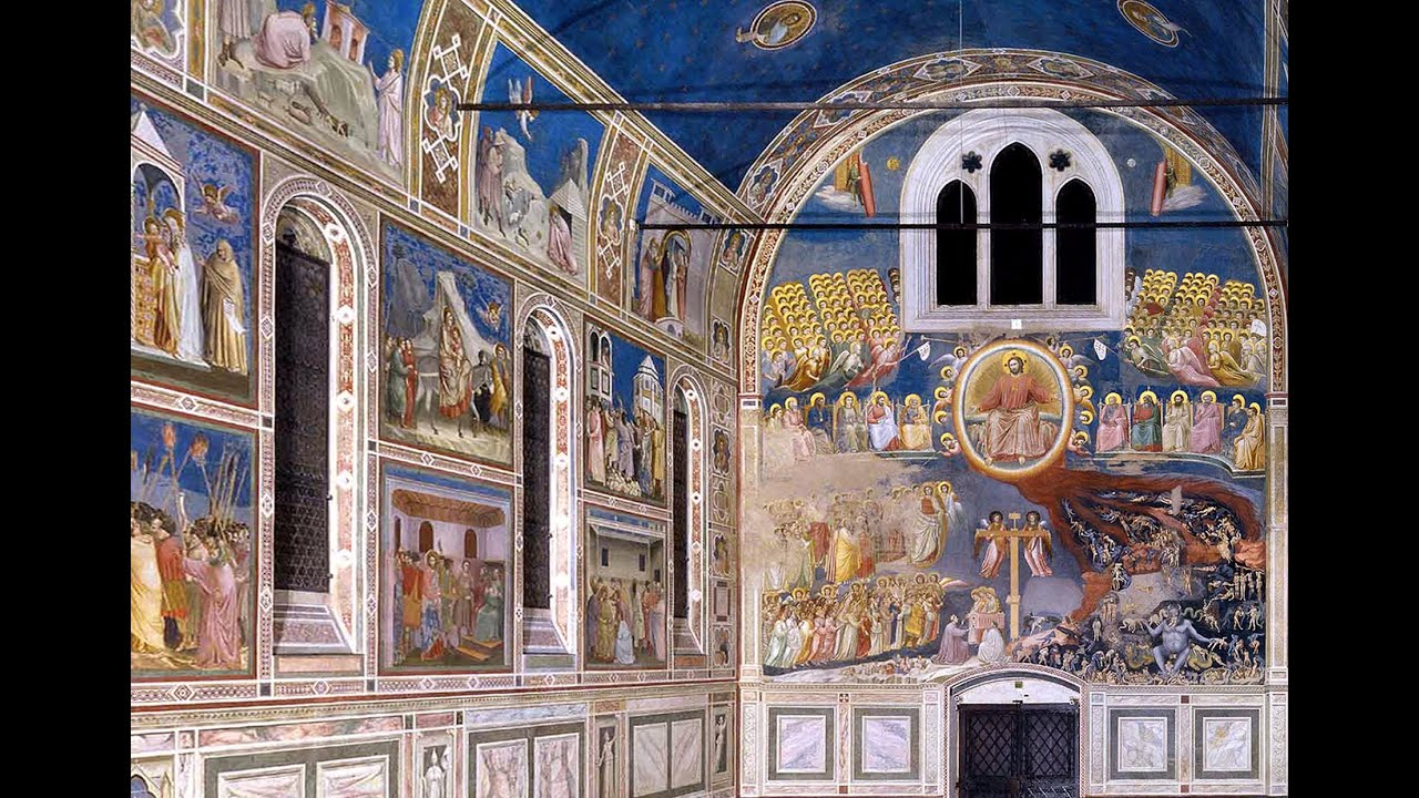 Basilica Floor Plan Giotto Arena Scrovegni Chapel Part 1 Youtube