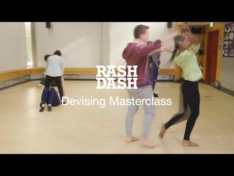 RashDash: Devising Masterclass