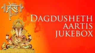 Dagdusheth Aartis Jukebox | Feat. Sonu Nigam, Shreya Ghoshal & more
