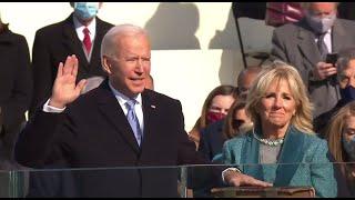 Cérémonie d'investiture : Joe Biden prête serment
