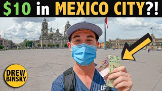 What Can $10 Get in MEXICO CITY?!