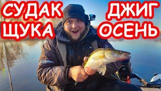 Ловля судака и щуки на джиг осенью. Приманки на судака и щуку. Рыбалка 2019