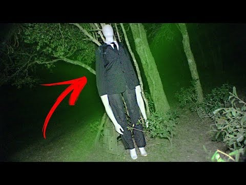 RITUAL DO SLENDER MAN NA FLORESTA