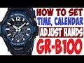 How to set the Date & Time on Casio Gshock 5146 5425 ...