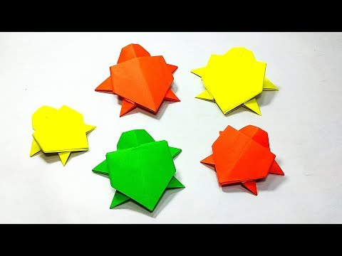 How to make Paper Turtle || Origami Turtle || DIY