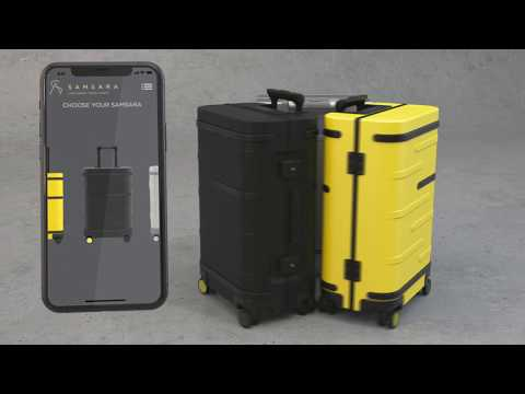 The new Samsara smart carry-on features more breakthrough innovation including WiFi . Hotspot, IoT tracking solution that offers consumers the most accurate location data for their smart-case.