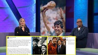 Messi, Ronaldo Pays Triḃute To Diego Maradona! Ian Wright: Rest In Peace, Legend