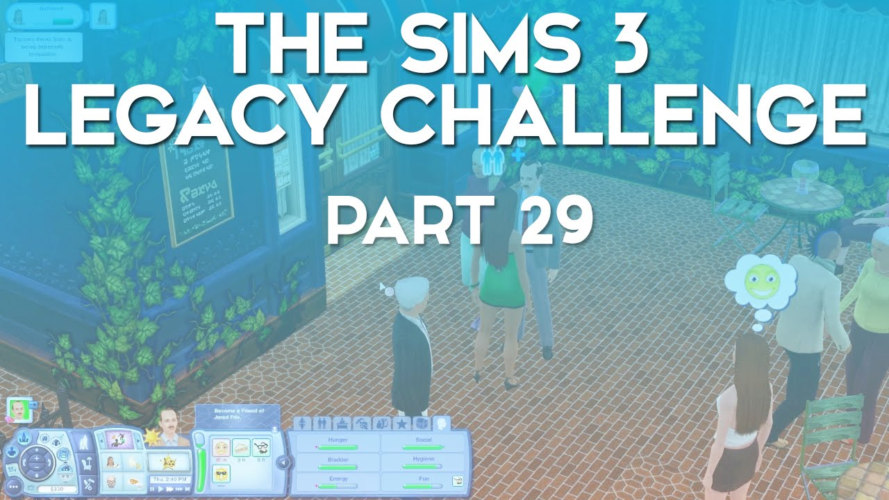 How do you write a good sims 3 legacy?