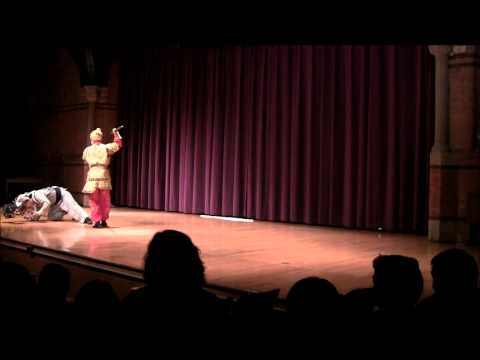 Demonstration on Chinese Opera Stage Combat at Cornell University on 2/10/12