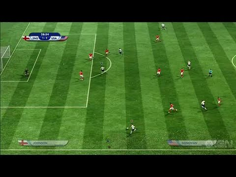 2010 FIFA World Cup South Africa Xbox 360 Gameplay  USA