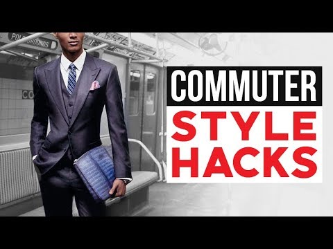 10 AWESOME Commuter Style Hacks | Fashion Tips For Subway Train Bus & Tube Travel