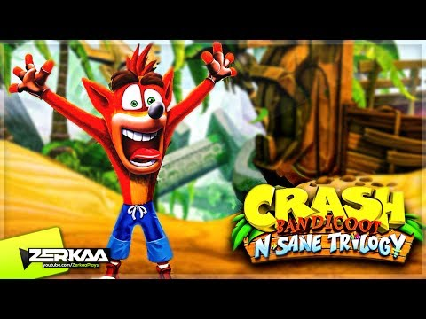 CRASH BANDICOOT REMASTERED! (Crash Bandicoot N Sane Trilogy PS4)