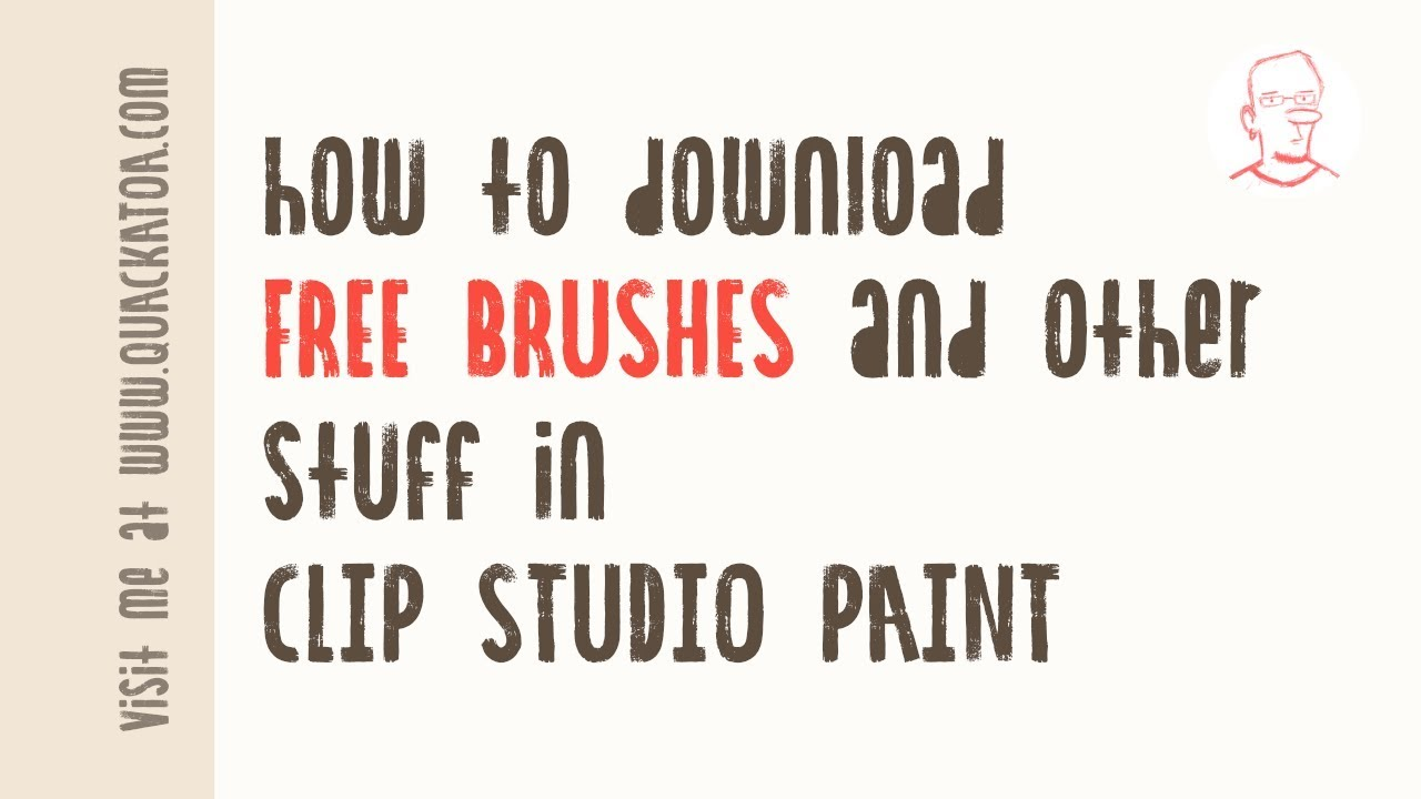 How To Download Free Brushes And Other Materials In Clip Studio Paint