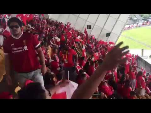 Unreal Atmosphere At Tonga v England Rugby League World Cup
