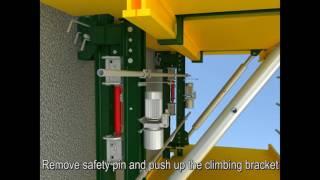 Utracon-Zulin - Auto Climbing Formwork QPMX50 system