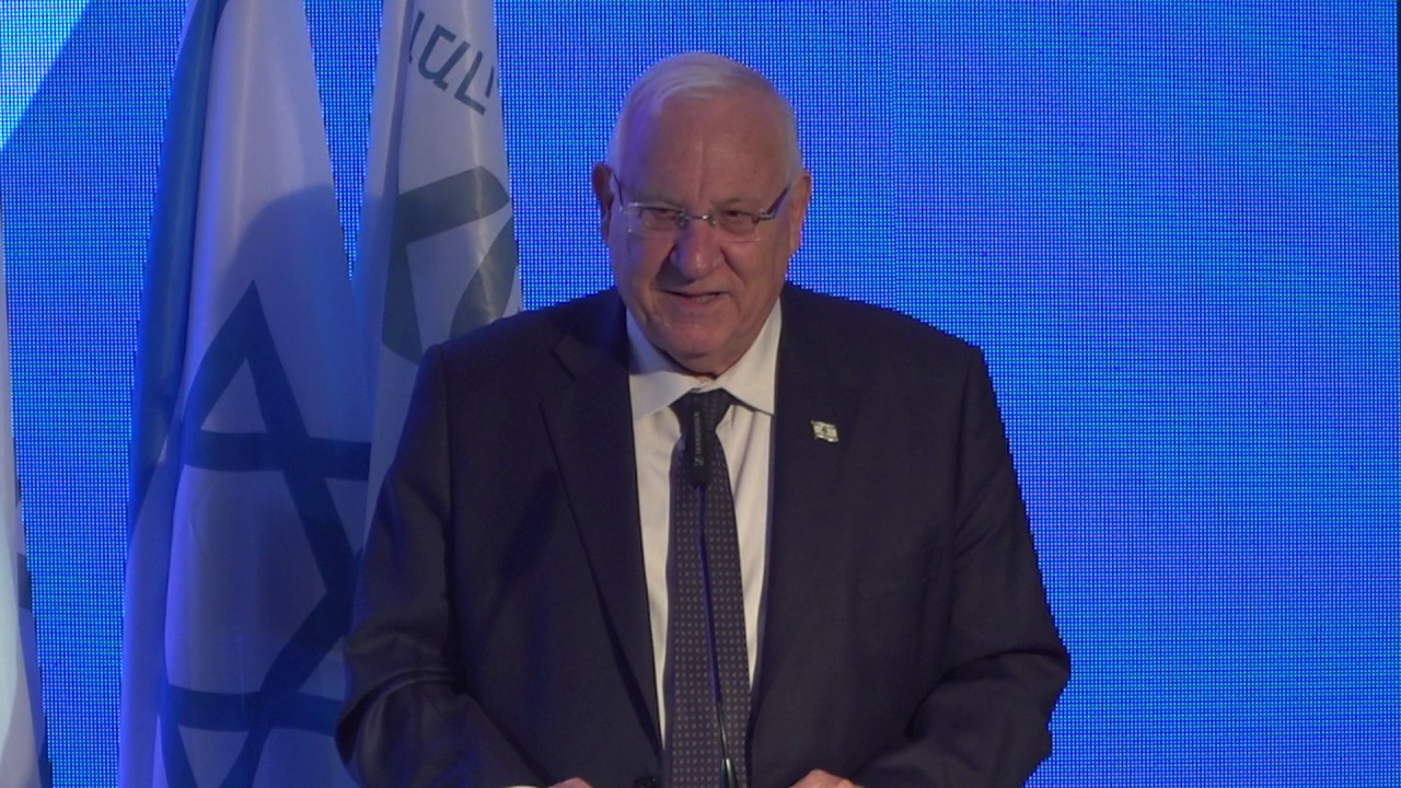 נשיא המדינה מר ראובן ריבלין באירוע ההשקה של ביזמקס