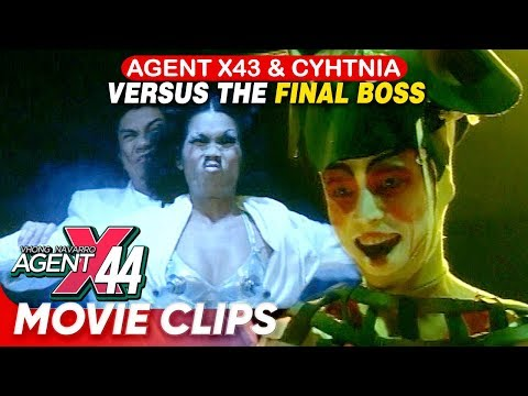 Agent X43 and Col. Cynthia versus the 'Final Boss'!   'Agent X44'   Movie Clips