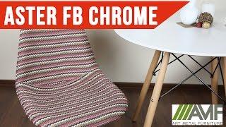 Стул Aster FB Chrome. Стулья для дома от AMF(Стул Aster FB Chrome - это стул для столовой со спинкой на металлической основе. Подробнее: http://amf.com.ua/stul_aster_fb_chrome_kras..., 2016-05-18T16:25:58.000Z)