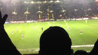 Sheffield United vs Spurs - You Fill Up My Senses