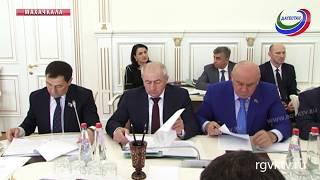 В Махачкале прошел Президиум дагестанского парламента
