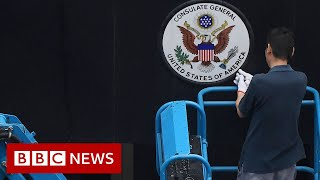 China orders closure of US consulate in Chengdu - BBC News