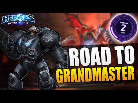 Raynor - Placement 2 // Road to Grandmaster S3 // Heroes of the Storm