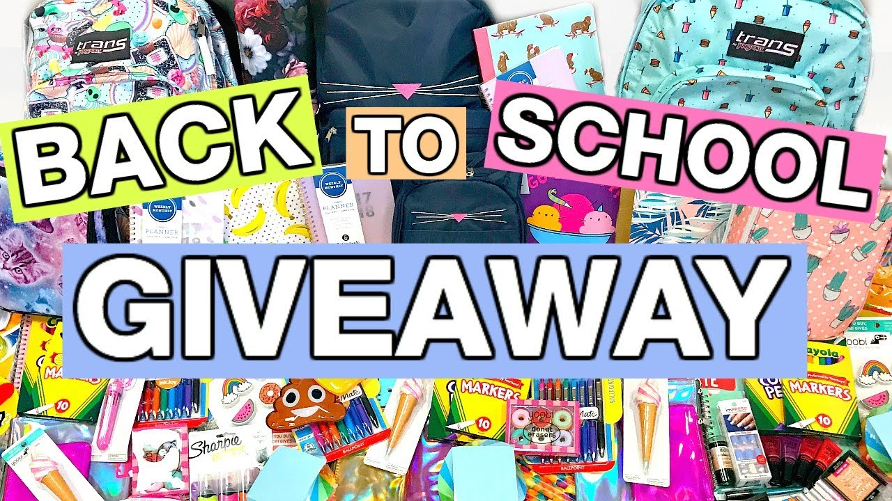 Small back to school giveaways