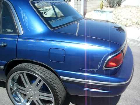 The First Buick Lesabre Full Wrap Tv S 24 Quot And Fresh Paint I Youtube