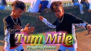 Tum Mile || Popping Dance in Public Place || Pop Mahesh Sharma
