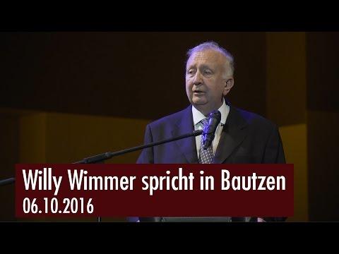 Willy Wimmer spricht in Bautzen (06.10.2016)