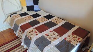 Vídeo aula – Cobertor de retalhos