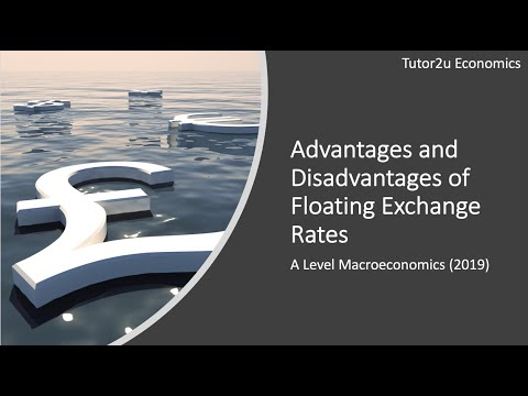 Advantages And Disadvantages Of Floating Exchange Rates