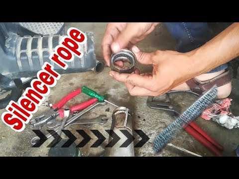 RX 100 silencer rope change