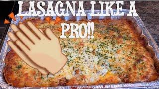 How to make lasagna like a Pro